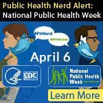 Public Health Nerd: national Public Health Week 2016.